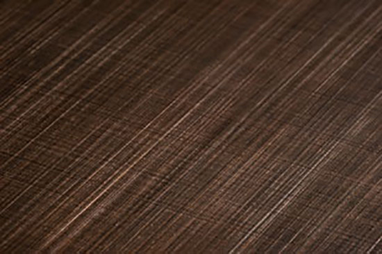 Finiture CG Black Copper by YDF | Metal sheets