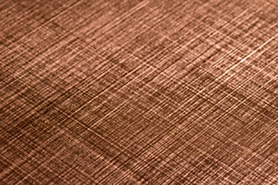 Finiture CG Bronzed Copper by YDF   Metal sheets