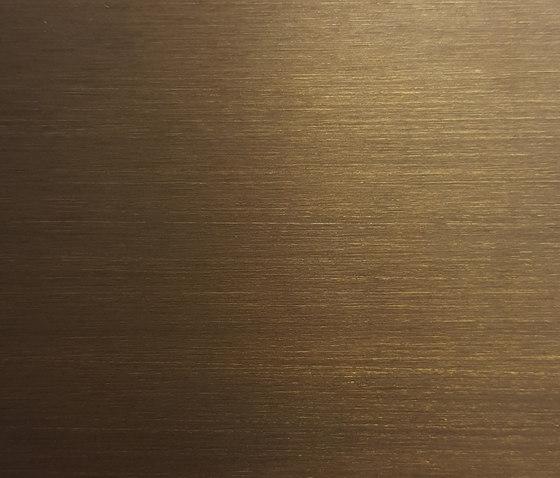 Finiture Bronzed Brass Dark de YDF | Paneles metálicos