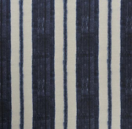 Indigo Bleu Fabrics | Scillo - Indigo de Designers Guild | Tissus de décoration