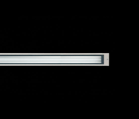 Cielo / L 1245 mm - Sandlasted Glass - Symmetric Optic by Ares | General lighting