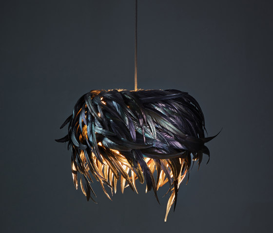 luna oscura by pluma cubic | Suspended lights