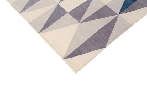 GIO PONTI Diamantina blue de Amini | Alfombras / Alfombras de diseño
