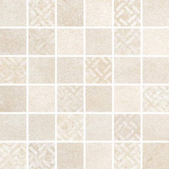 Uptown Mosaico Beige di KERABEN | Mosaici ceramica
