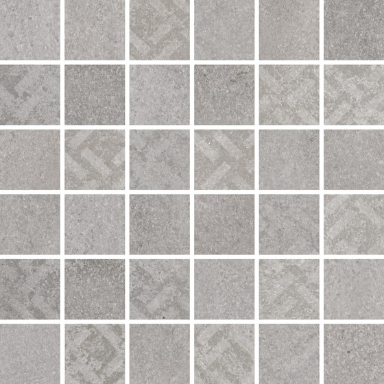 Mosaico Uptown Grey by KERABEN | Ceramic mosaics