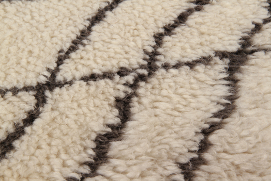 Moroccan Touch MT04 ivory/dark grey by Amini | Rugs