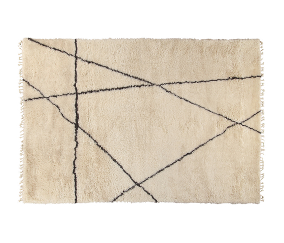 Moroccan Touch MT01 ivory/dark grey by Amini | Rugs