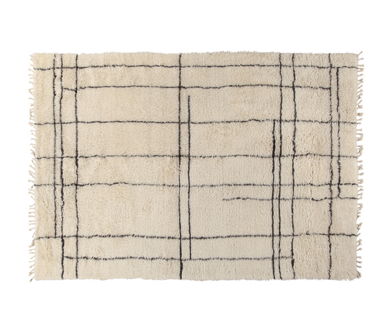 Moroccan Touch MT05 ivory/dark grey by Amini   Rugs