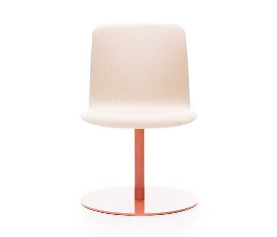 Sola conference chair with swivel disc base de Martela | Sièges visiteurs / d'appoint