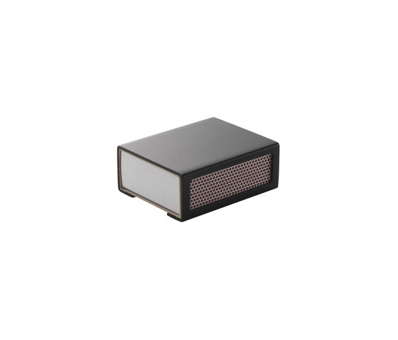 Matchbox Cover Black by by Lassen | Living room / Office accessories