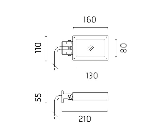Perseo 9 Power LED / - Adjustable - Transparent Glass - Narrow beam 10° de Ares   Projecteurs