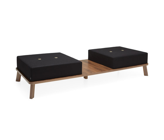 Couture bench by Materia | Waiting area benches