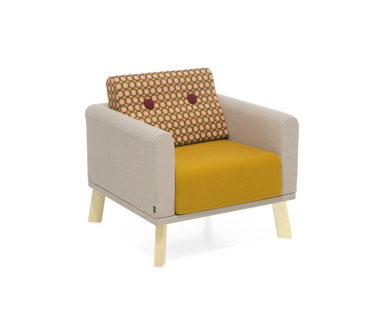 Couture easy chair de Materia | Fauteuils