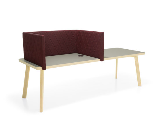 Couture table with screens von Materia | Tischpaneele