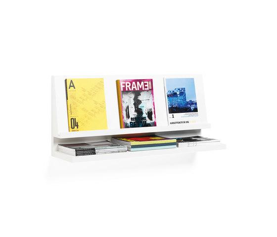 Expo magazine holder von Materia | Zeitschriftenablagen / -ständer