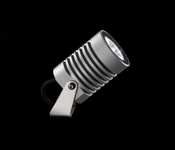 Iota Power LED / Adjustable - Narrow Beam 10° by Ares   Flood lights / washlighting