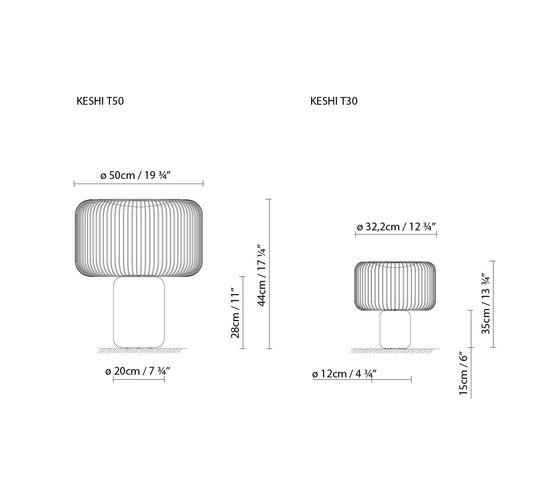 Keshi T30 de B.LUX | Iluminación general
