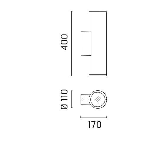 Emma 110 / Biemissione - Fascio Stretto 10° di Ares | Lampade spot