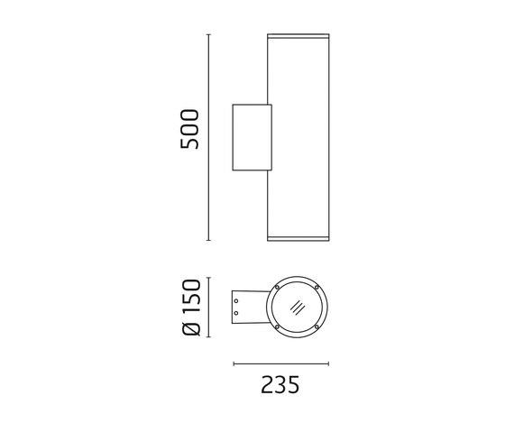 Emma 150 CoB LED / Bidirectional - Narrow Beam 20° de Ares | Spots