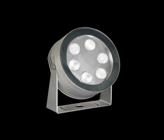 MaxiMartina Power LED / Transparent Glass - Adjustable - Narrow Beam 10° by Ares | Outdoor wall lights