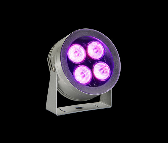 MaxiMartina RGB Power LED / Transparent Glass - Adjustable - Narrow Beam 10° by Ares | General lighting