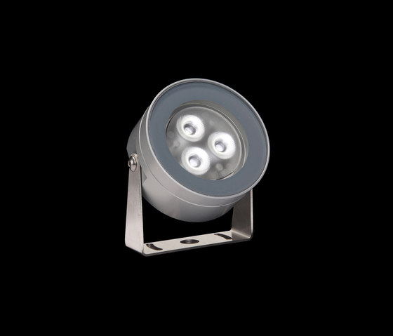 Martina Aqua Power LED / Inox 316L Underwater - Transparent Glass - Adjustable - Wide Beam 50° by Ares | Outdoor wall lights