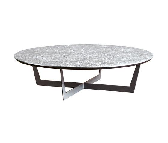 Iron Tavolino Cross Tondo di SanPatrignano   Tavolini bassi