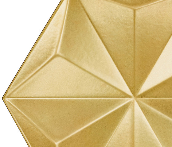 Gold Frozen Crystal de Bisazza | Carrelage céramique