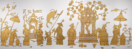 Chinoiserie de Bisazza | Mosaicos de vidrio
