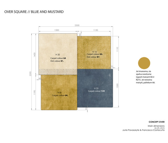 Over Square by EMKO | Rugs