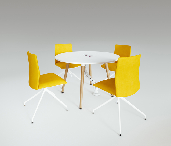 Scando Round conference table de Ergolain | Mesas de reuniones