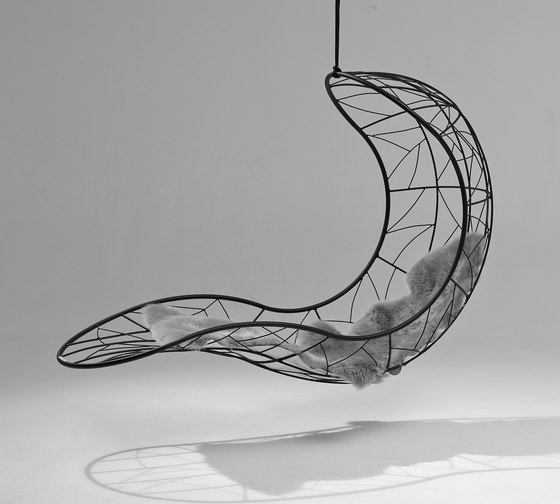 Single Recliner hanging swing chair de Studio Stirling | Sièges de jardin