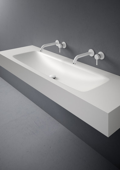 D5 Corian® Washbasin Countertop de Inbani | Lavabos