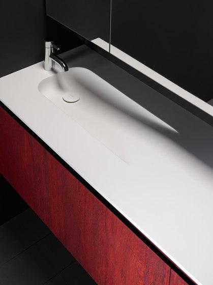 H7 Solidsurface® Washbasin Countertop de Inbani | Lavabos