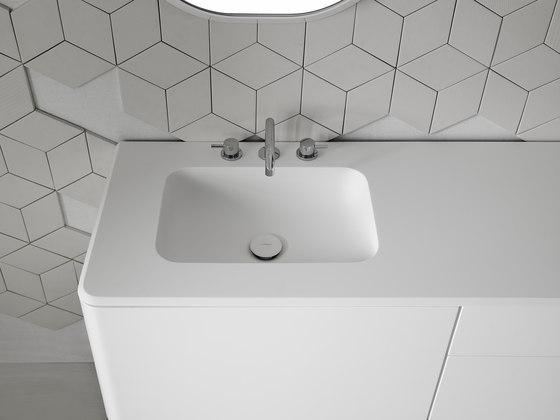 Quadro 45 Undermount Matt Corian® Sink de Inbani   Lavabos