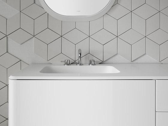 Quadro 45 Undermount Matt Corian® Sink de Inbani | Lavabos