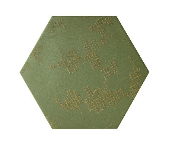 Ornamenti GF Terra Verde de Valmori Ceramica Design | Carrelage céramique