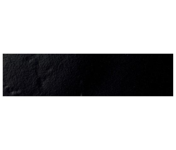 Le Crete Brick Terra Nera von Valmori Ceramica Design | Keramik Fliesen