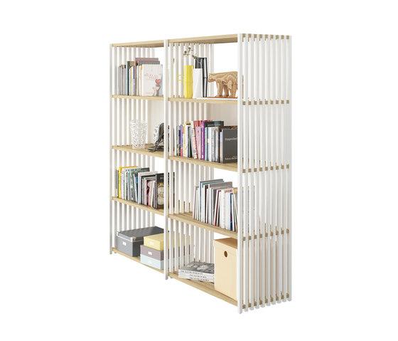 REBAR Foldable Shelving System Shelf 4.4 by Joval | Bath shelving