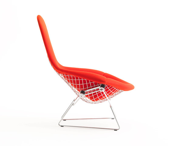 Bertoia High Back Chair by Knoll International | Armchairs