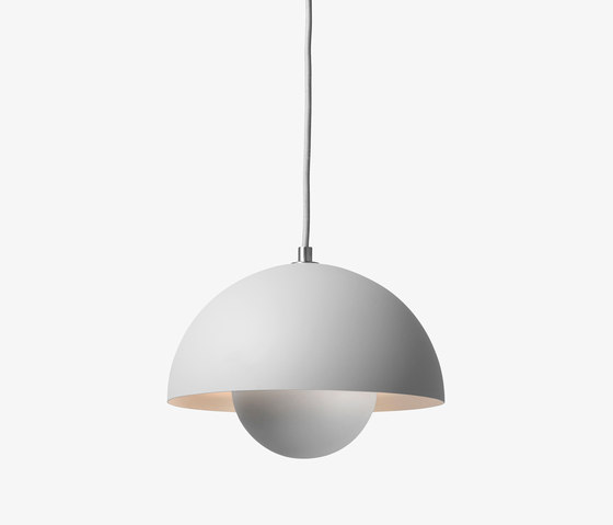 FlowerPot Pendant VP1 matt light grey de &TRADITION | Lámparas de suspensión