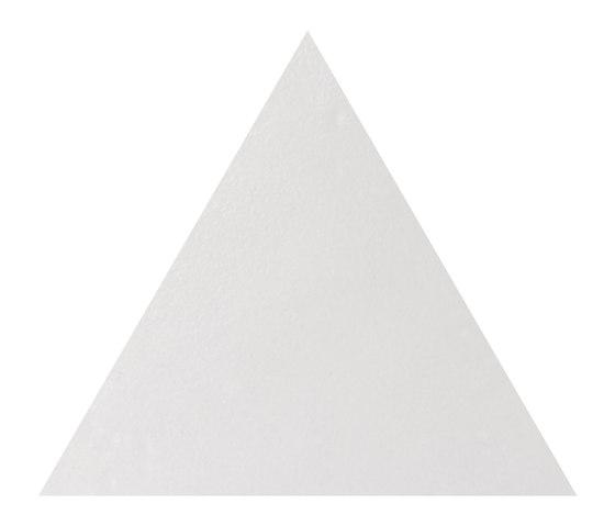 Le Crete Air 3.5 Triangolo Terra Bianca by Valmori Ceramica Design | Ceramic tiles