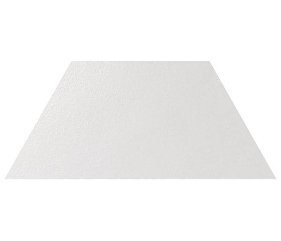 Le Crete Air 3.5 Trapezio Terra Bianca by Valmori Ceramica Design | Ceramic tiles