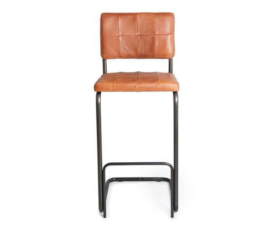 Nelson Old Glory barstool without arms by Jess | Bar stools