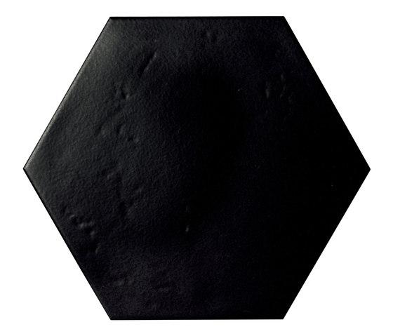 Konzept Color Mood Hexagon Terra Nera von Valmori Ceramica Design   Keramik Fliesen
