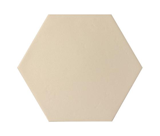 Konzept Color Mood Hexagon Terra Bejge von Valmori Ceramica Design | Bodenfliesen