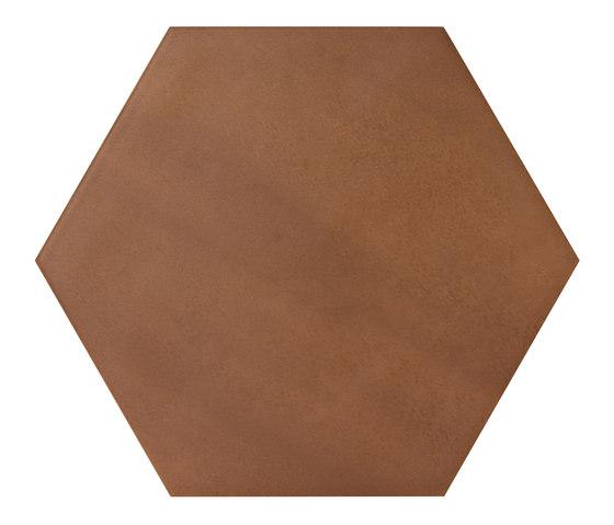 Konzept Color Mood Hexagon Terra Cotta de Valmori Ceramica Design | Carrelage pour sol