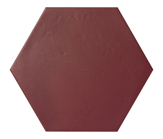 Konzept Color Mood Hexagon Terra Bordeaux von Valmori Ceramica Design | Keramik Fliesen