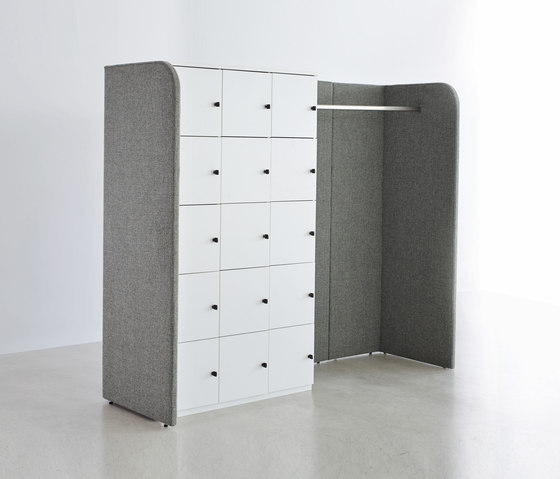 Space organization system paravento hub by ophelis | Coat stands