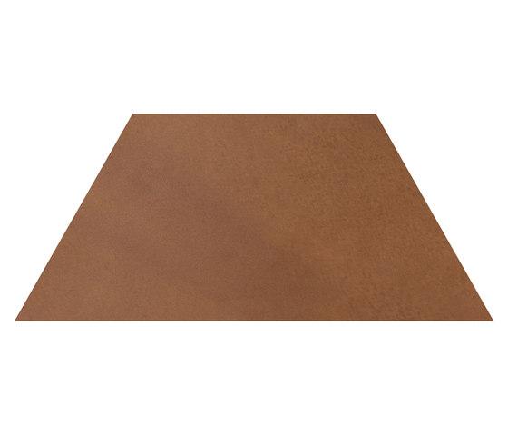 Konzept Shapes Trapezium Terra Cotta by Valmori Ceramica Design | Ceramic tiles